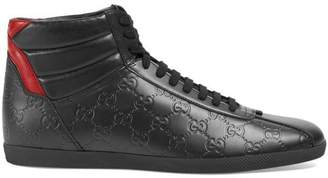 Gucci Signature high-top sneaker