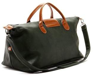 Co Brouk & Alpha Vegan Leather Duffel Bag