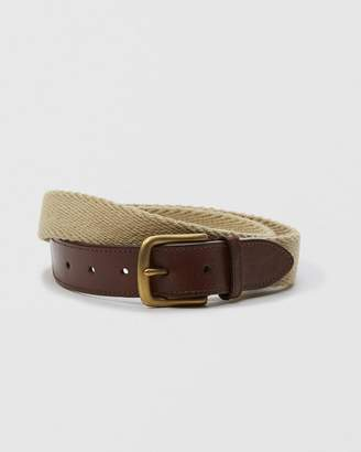 Abercrombie & Fitch 1 1/4-Inch Woven Belt