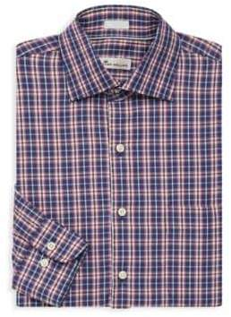 Peter Millar Mitchell Plaid Button-Down Shirt