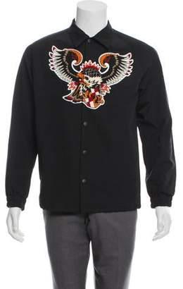 Facetasm Bird Appliqué Jacket