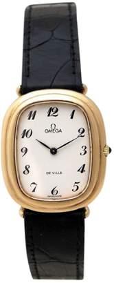 Omega Silver gilt watch