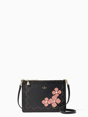 Kate Spade On purpose floral leather crossbody