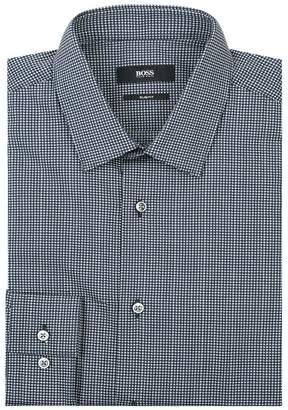 HUGO BOSS Geometric Print Shirt