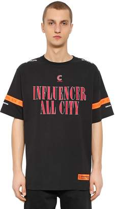 Heron Preston Influencer Printed Cotton Jersey T-Shirt