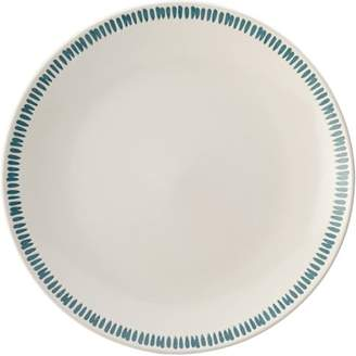 "Rachael Ray Cucina Sun Daisy Dinnerware 10-3/4"" Stoneware Dinner Plate, Set of 4"