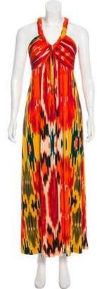 Calvin Klein Ikat Maxi Dress