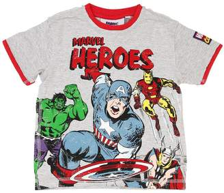 Marvel Heroes Cotton Jersey T-Shirt