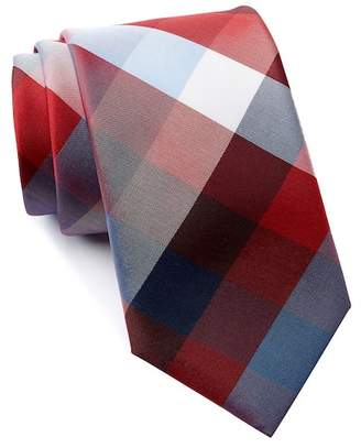 Tommy Hilfiger Oswego Multi-Plaid Silk Tie