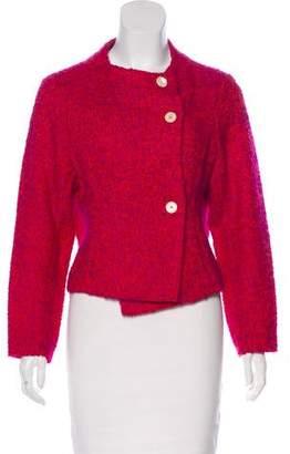 Marni Long Sleeve Wool-Blend Jacket
