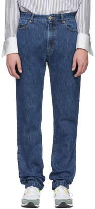 Matthew Adams Dolan Indigo Slim Jeans
