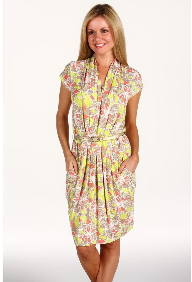 Anne Klein Petite - Petite Floral Print Dress