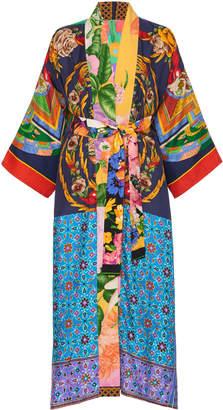 Rianna + Nina Exclusive One Of A Kind Patchwork Kimono