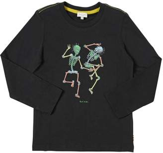 Paul Smith Glow-In-The-Dark Cotton Jersey T-Shirt