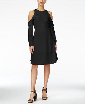 RACHEL Rachel Roy Cold-Shoulder Sheath Dress, Only at Macy's $139 thestylecure.com