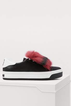 Marc Jacobs Empire faux fur sneakers