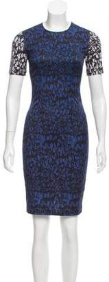 Yigal Azrouel Fitted Midi Dress