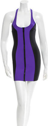 Lisa Marie Fernandez Neoprene Bodycon Dress $70 thestylecure.com