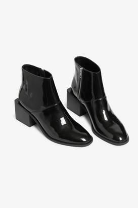 Monki Square heel boots