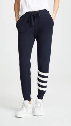 Monrow Sporty Stripe Sweatpants