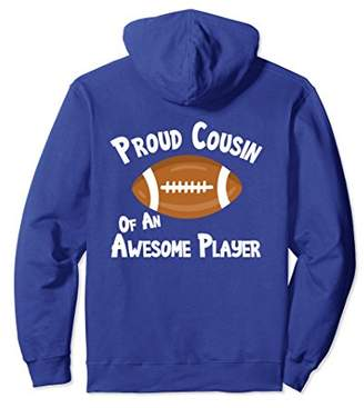 Football Shirt Proud Cousin Awesome Player Game Hoodie