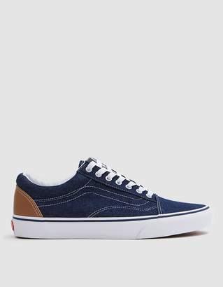 Vans Old Skool Sneaker in Dress Blues