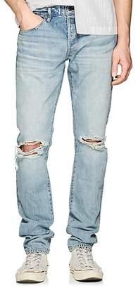 Simon Miller Men's M001 Distressed Slim Jeans