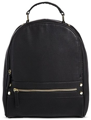 Mossimo Supply Co Women's Mini Backpack Handbag with Zip Closure Black - Mossimo Supply Co.TM. $29.99 thestylecure.com