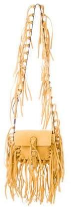 Valentino Small C-Rockee Fringe Shoulder Bag