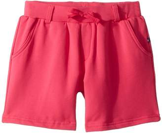 Toobydoo Fun Pink French Terry Camp Shorts Girl's Shorts