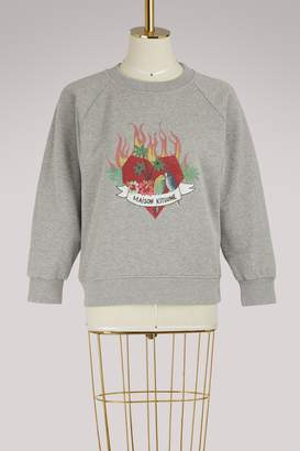 MAISON KITSUNÉ Cotton sweatshirt