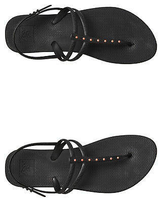 Reef New Women's Womens Escape Lux T Stud Thong Rubber Black