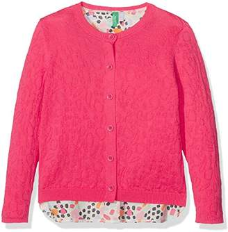 Benetton Girl's L/S Sweater Jumper,(Manufacturer Size:1 Year)