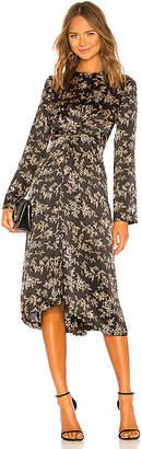 Vince Eden Branch Twist Drape Dress