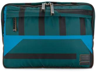 8476ac45a784 Marni x Porter striped clutch bag