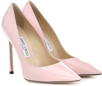 Jimmy Choo Romy 110 patent leather pumps