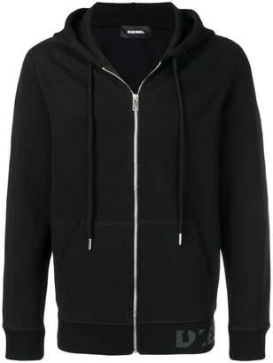 Diesel zipped sweatshirt