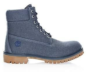 Timberland Men's 6-Inch Premium Canvas Boots