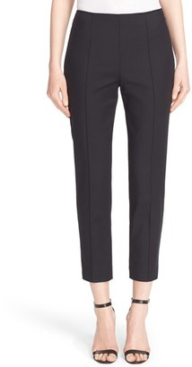 Women's John Collection 'Alexa' Stretch Micro Ottoman Ankle Pants $395 thestylecure.com