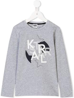 Karl Lagerfeld graphic print T-shirt
