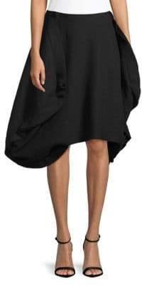 Comme des Garcons Felt Pieced Wool Skirt