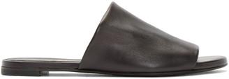 Robert Clergerie Black Gatok Sandals $395 thestylecure.com