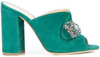 Chloé Gosselin Sienna embellished mules