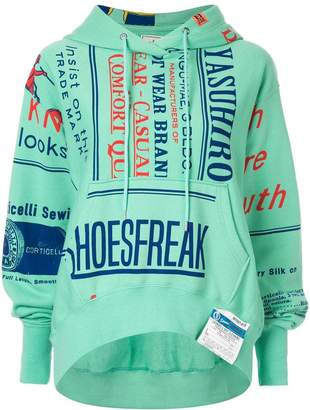 Puma Maison Yasuhiro text print hoodie