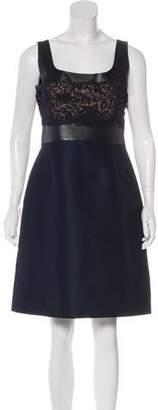 Valentino Sleeveless Silk Dress