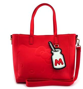 Loungefly x Hello Kitty Debossed Tote Bag