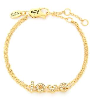 Juicy Couture Love Letters Chain Bracelet