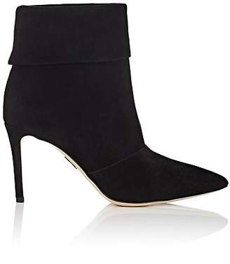 Paul Andrew Women's Banner Suede Ankle Boots - Black