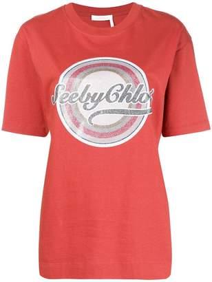 See by Chloe SBC logo T-shirt