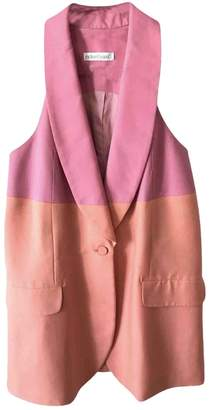 Richard Nicoll Pink Cotton Jacket for Women